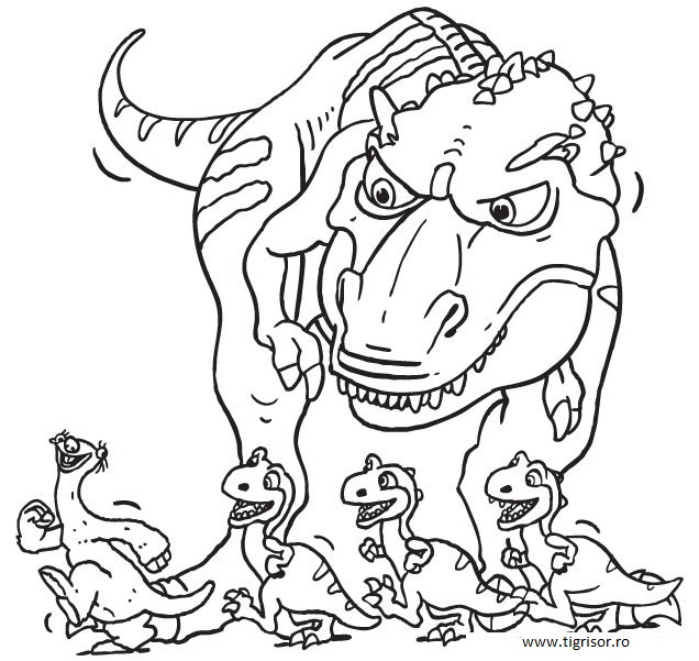 ice age coloring pages - Ice Age Characters Coloring Pages